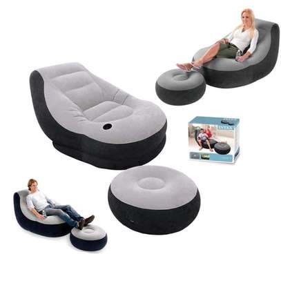 Inflatable Seats with Foot Rest image 3