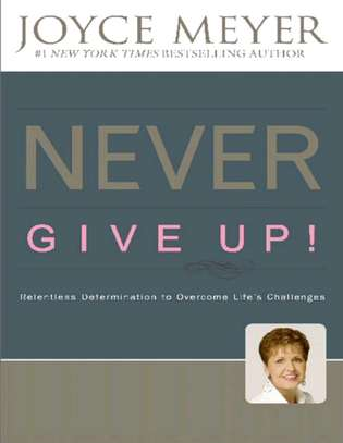 Never give up image 1