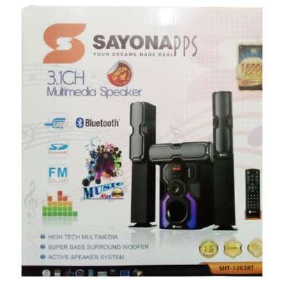 Sayona SHT-1263BT 3.1 CH SUBWOOFER - MEDIUM RANGE TALL BOY SPEAKERS image 3