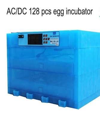 128 Eggs AC/DC Fully Auto Incubator image 1