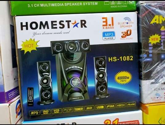 Homestar 3.1 Ch Multimedia Speaker System Woofer 40000W image 1
