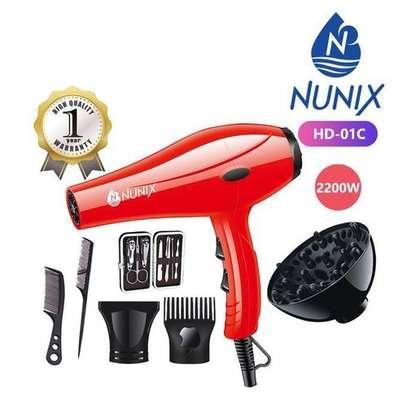 Nunix HD-01C 2200W Blow Dry Hair Dryer image 3