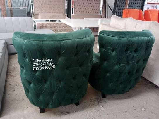 One seater sofas/sofas/modern single seater sofas/green sofas/ image 2