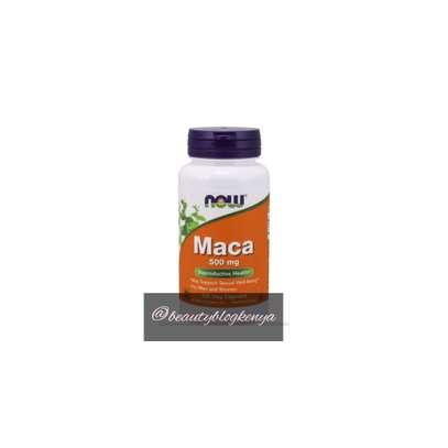 NOW MACA 100 capsules 500mg in Kenya image 1