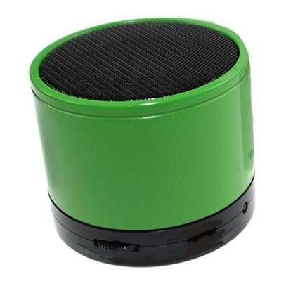 Mini Bluetooth Wireless Stereo Speakers FM, Memory Card, Bluetooth, USB - Green image 1