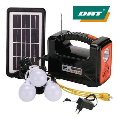 Dat Home Solar Light DAT Light With Radio And USB image 1