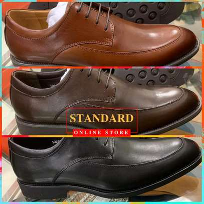 Men's Official Italian Leather Shoes with rubber sole image 22