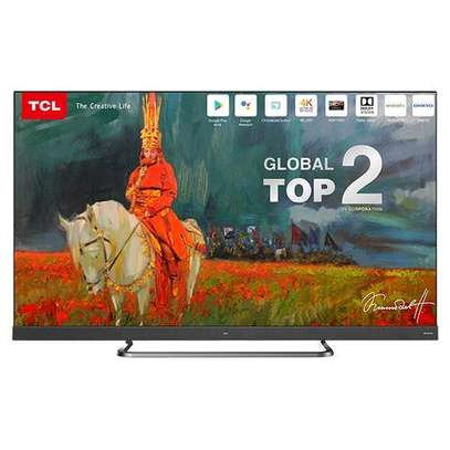 TCL 65 65C8 Smart Android 4K QUHD TV- AI-IN Series C, Netflix, YouTube image 1