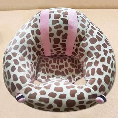 Comfy Baby Support Sit Me Up Pillow(pink and coffeetheme)