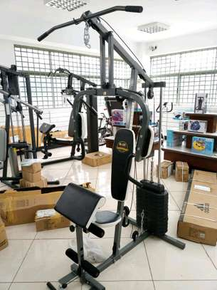 Multi functional home-gym equipment image 1