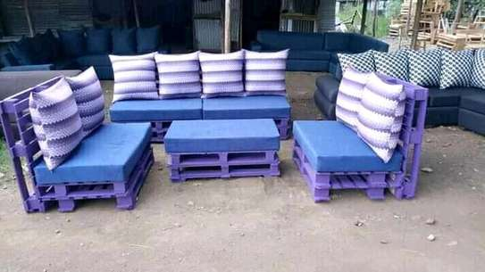 Beautiful Modern Quality 7 Seater Pallet Sofa image 1
