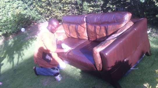 Leather Sofa Dye and Seat Repair image 14