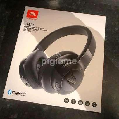 Jbl E55BT Wireless On-Ear Headphones image 1