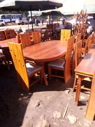 Six seater dining set image 1