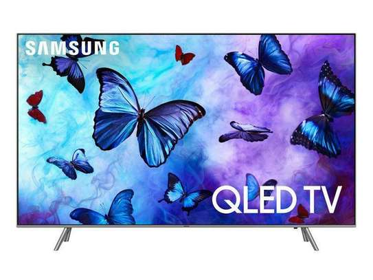 Samsung 55-Inch 4K UHD QLED Smart TV image 1