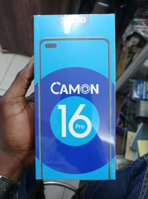 Tecno Camon 16 Pro brand new and sealed in a shop image 1