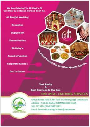Catering services image 1