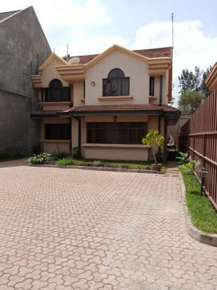 Furnished 4 bedroom townhouse for rent in Runda image 1