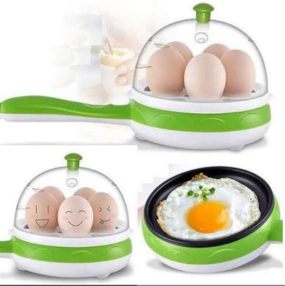 Egg boiler cooler pan image 1