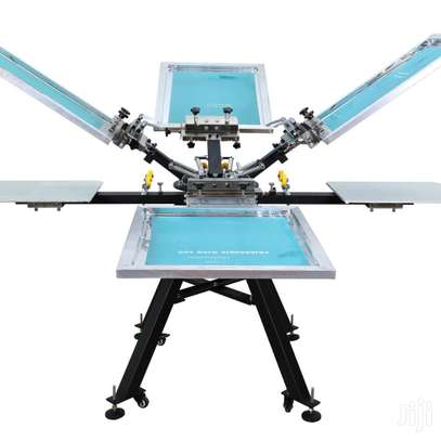 ON SPECIAL - Brand New 4 Colour 4 Station Screen Printing Machine image 1