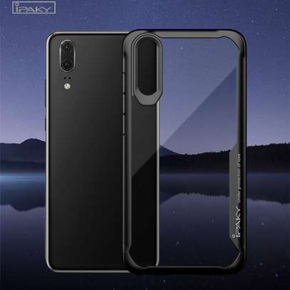 IPAKY Hybrid Shockproof Transparent Case for Samsung A70 A60 A50 A40 A30 A20 A10 A20s A30s image 5