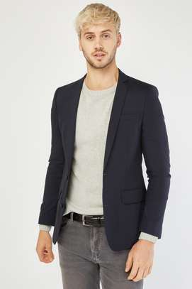 Men's Lapel Front Fitted Blazer image 2
