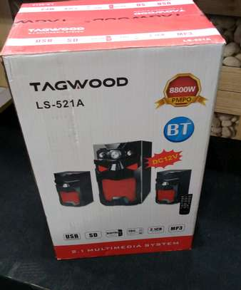 Tagwood ls-521A 2.1 speakers. image 1