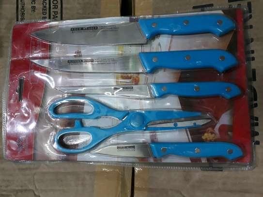 Knife set/5pc knife set/kitchen knife image 1