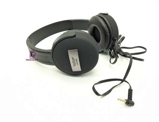 Lelisu LS-813 Stereo Hi-Fi Corded Headphones with Microphone image 5