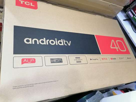 Tcl 40 inch smart android led TV image 1