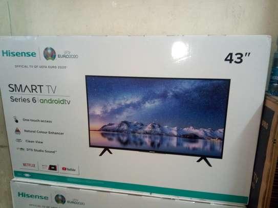Hisense 43 inch smart android led TV image 1