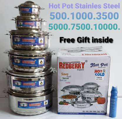 Redberry Stainless Steel Hot pots image 1