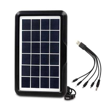 Universal solar phone charger.can charge all types of phones. image 2