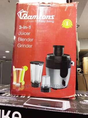 Ramtons 3 In 1 Juicer Blender And Grinder RM/541 image 1