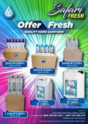 Safari Fresh 70% Alcohol Hand Sanitizer image 1