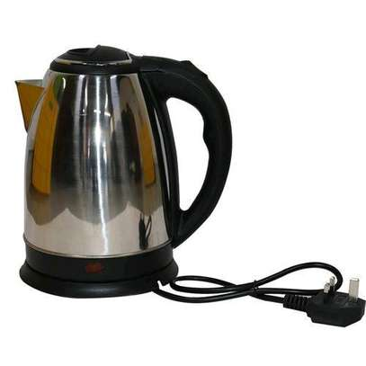 Cordless Lyons Stainless Steel Electric Kettle - 1.8L image 1