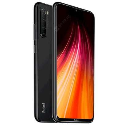 XIAOMI Redmi Note 8 Black, 6.3 FHD, 4GB RAM - 64GB, Quad rear Camera, 4000mAh, Android 10, MiUI 11,Dual Nano Sim and Sd Card image 1