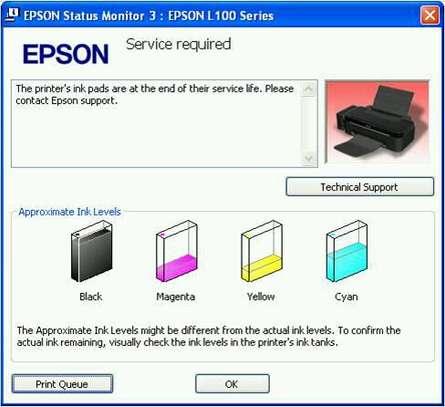 EPSON DIAGNOSIS image 1