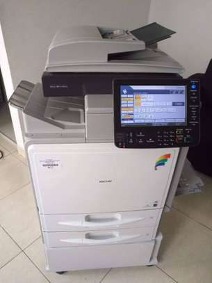 EFFICIENT, AFFORDABLE & RELIABLE COLOR PRINT Ricoh Aficio MP C300 photocopier