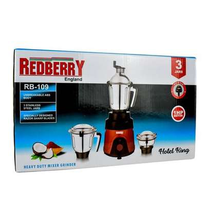 Red Berry Commercial Blender image 2
