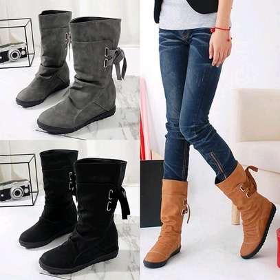 Midleg warm ladies boots image 1