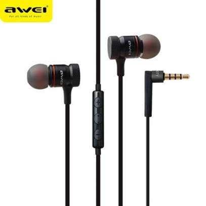 Awei ES70TY In-ear Earphone Metal Heavy Bass Sound Headset With MIC image 6