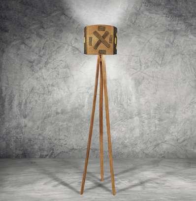 Trio Floor Lamp – Kuba Shade image 1