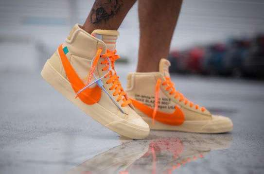 Off white X Nike blazer sneakers