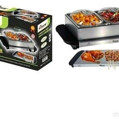 Electric chaffing dish/Electric cheffing dish/electric food warmer image 3