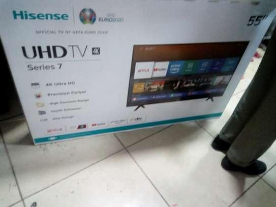 HISENSE  55 SMART UHD 4K TV image 1
