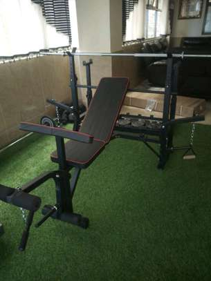 Weight-lifting bench image 5
