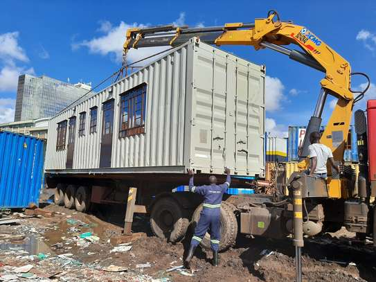 Fabricated Container Office