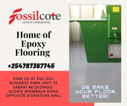 Fossilcote Epoxy Flooring solutions