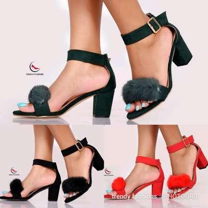 New comfy low heels image 1